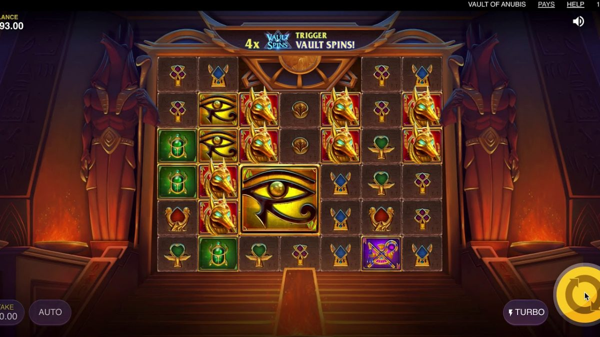 slot Vault of Anubis Slot from Red Tiger Gaming